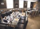 The restaurant in the Clink Brixton Prison