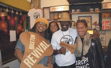 Brixton Revival gig in Diverse on Coldharbour Lane during last years design trail
