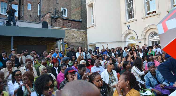 As well as its role as a repository of Black culture and history, the BCA also acts as a centre for the community in Brixton – as in the gathering to honour activist Darcus Howe after he died in 2017