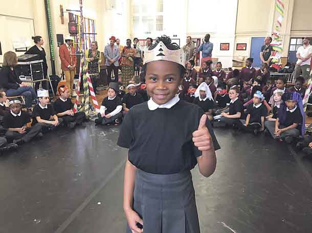 Hill Mead pupil playing Romeo