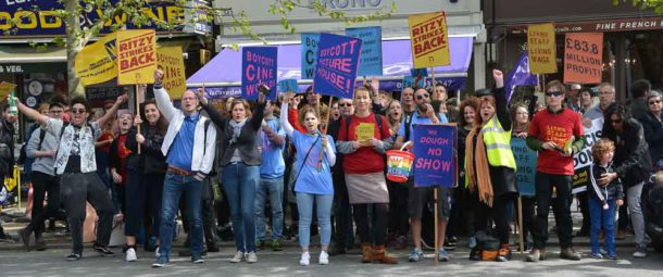 Workers at the East Dulwich Picturehouse have also taken action for the living wage