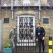 TOWIE's Pete Wicks and James Lock at The Clink Restaurant, HMP Brixton