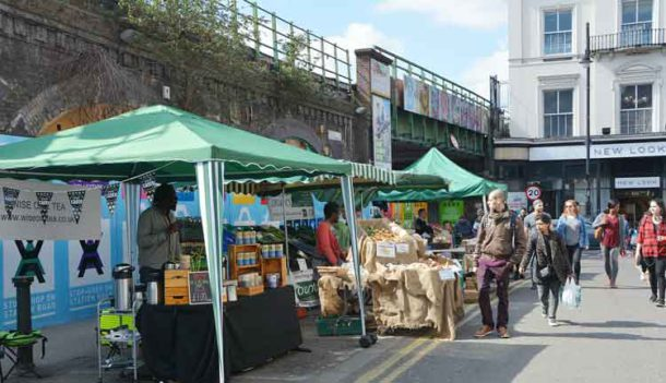 Market, railway and retail – key features of the Brixton economy