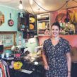 Sarah Bennett of Make Do and Mend retro shop