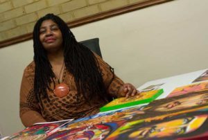 Audrey Williams a trader and artist
