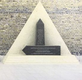 Artists impression of the Memorial to African and Caribbean soldiers who fought in two world wars.