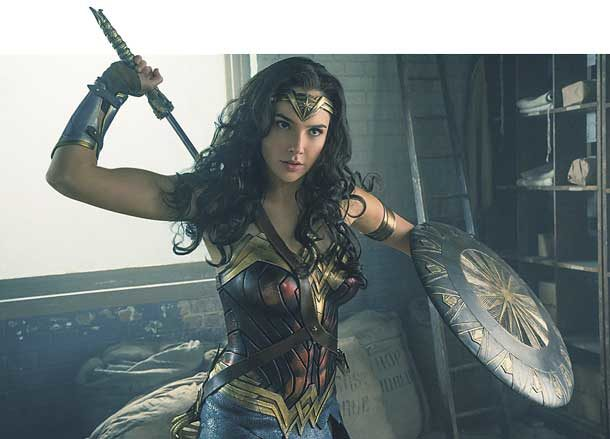Patty Jenkins as Wonder Woman