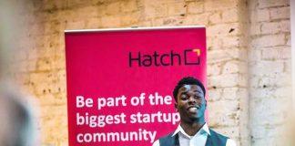 Young Hatch entrepreneur