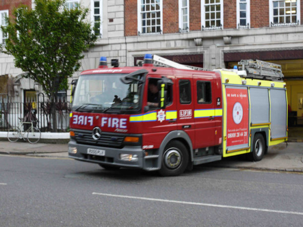 Fire engine from Brixton