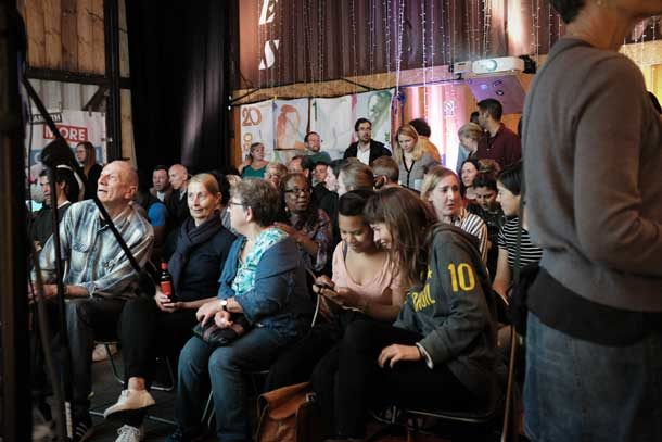 Brixton Pound Fund voters at Pop Brixton