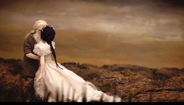 Still from film The Song of Wandering Aengus