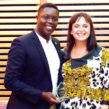Shaninga Marasha, CEO of BIGKID Foundation with Emma Harrison CBE, chair of the Foundation for Social Improvement