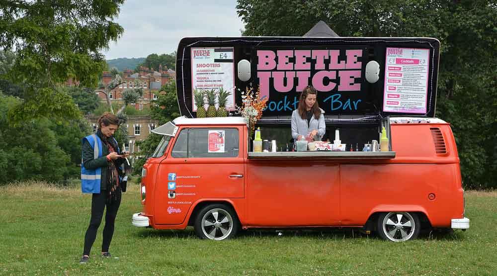 Beetle Juice cocktails