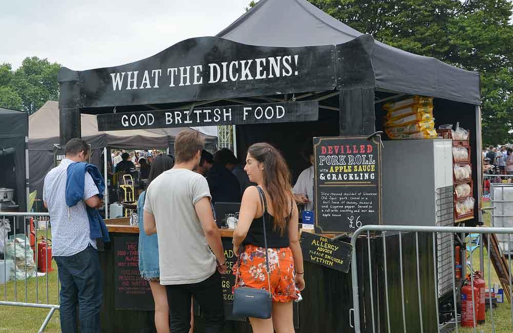 Even British food
