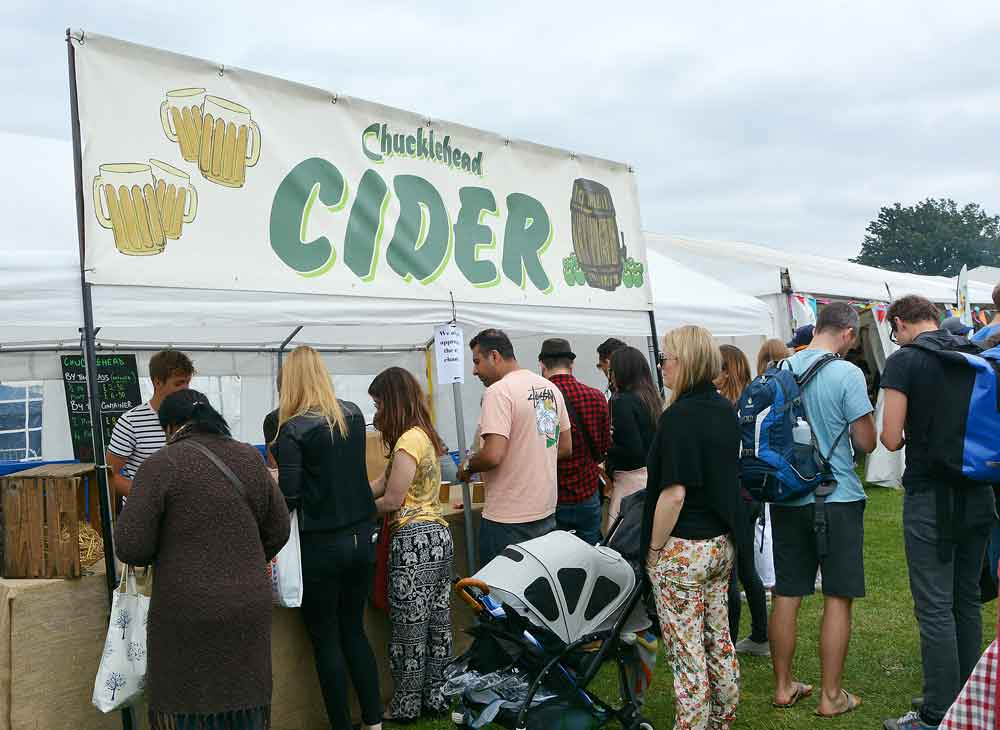 Chucklehead cider – as popular as ever