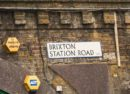 Brixton Station Road sign
