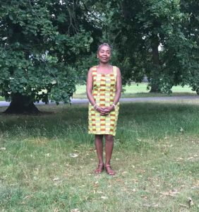 Cllr Winifred in Brockwell Park
