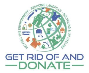 Get Rid of It and Donate logo