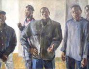 Paul Gildea Painting Night Watch