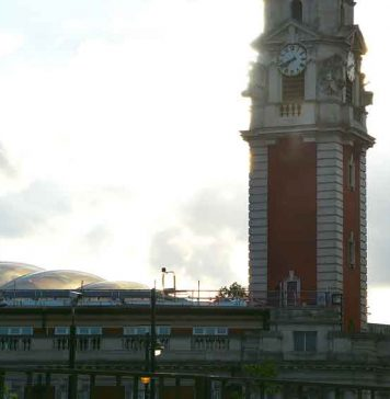 Works continues on Lambeth Town Hall in Brixton