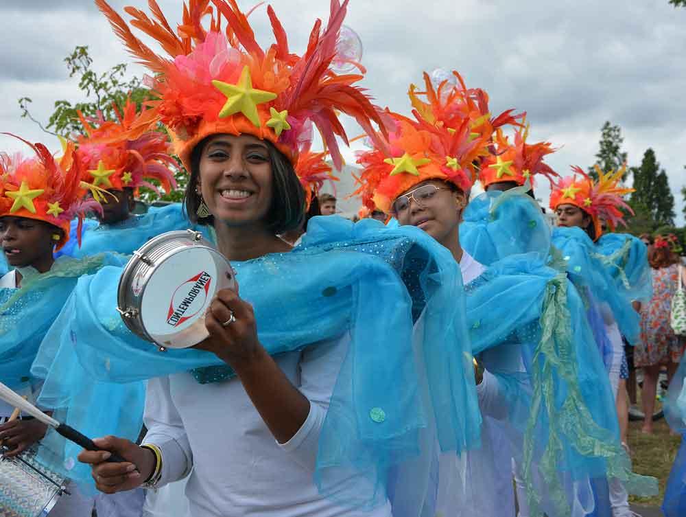 Samba from União da Mocidade