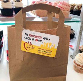 Ms Cupcake bag