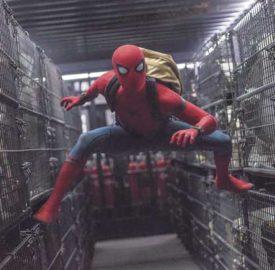 Still from Spiderman film Homecoming