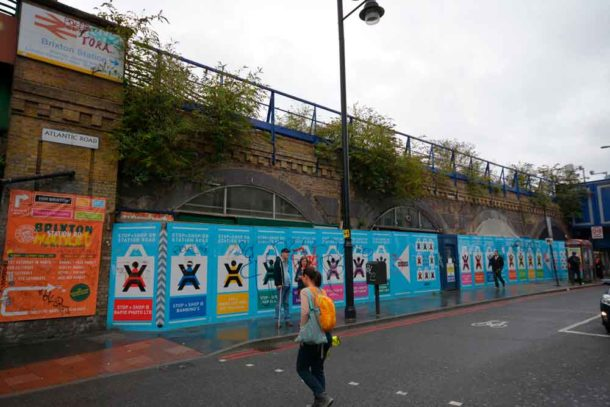 Network Rail arches in Brixton