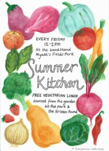 Summer kitchen Fridays @ Myatt's Fields @ Myatt's Fields Park | England | United Kingdom