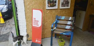 Edible Bus Stop HQ in Loughborough Junction