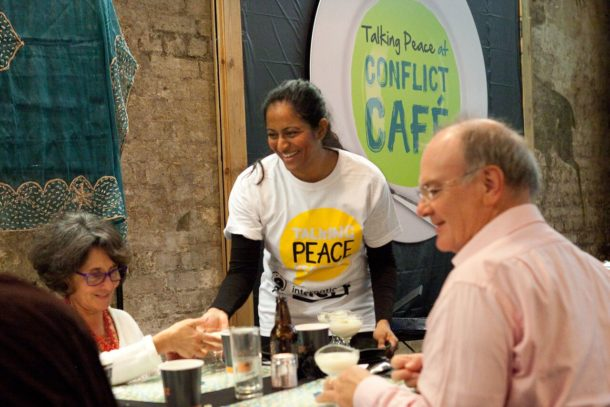 Conflict Cafe at Peace Festival