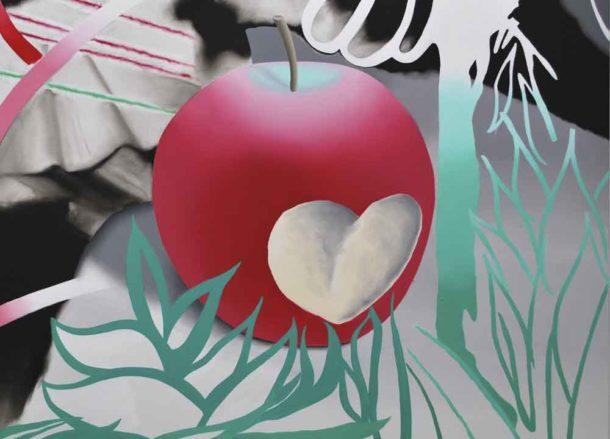 Bitten apple image