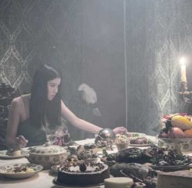 "Still from new film ""The Feast"""