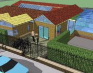 Artists impression of revamp of the depot at Myatt's Field Park