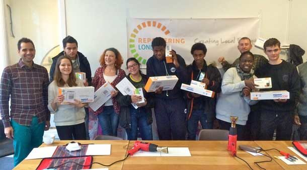 Repowering London students with certificates