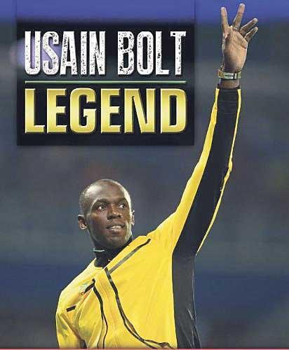 Book cover of Usain Bolt's biography: Legend