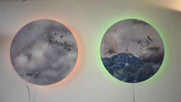 Katja Behre's wall lights