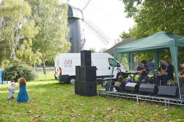 Brixton Windmill harvest celebration