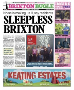 Brixton Bugle front page