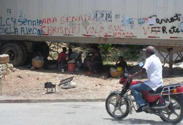 Still from Haiti documentary
