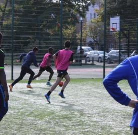 Football festival addressing racism in the Portugeuse- speaking community
