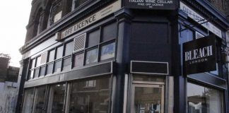 Exterior of Brixton Bleach in Ferndale Road