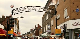 Entrance to East Street Market