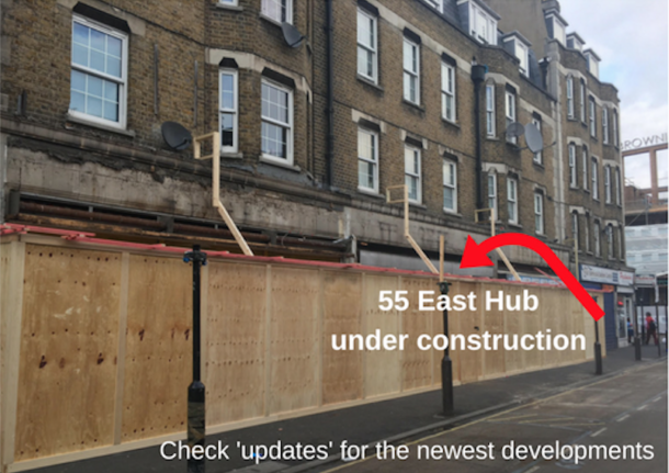 Premises in East Street that will be new community hub