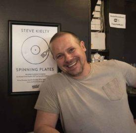 Steve Kielty in Market House
