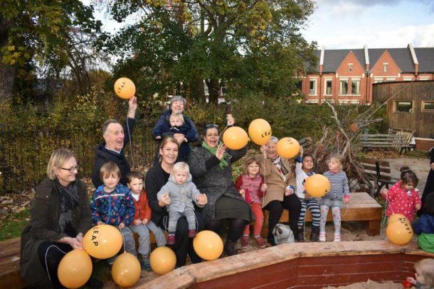 Lambeth Early Years Partnership celebrate £4m refurb announcement