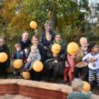 Lambeth Early Years Partnership celebrate refurb of Myatt's Field