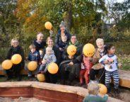 Lambeth Early Years Partnership celebrate refurb of Myatt's Field