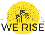 We rise logo
