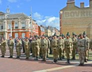 West Indian Association of Service Personnel (WASP) parade in Windrush Square last year